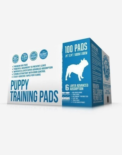 Puppy Training Pads by Bulldogology