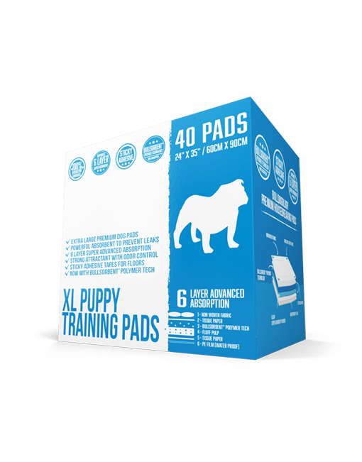 Puppy Pads Extra Large 40 Count