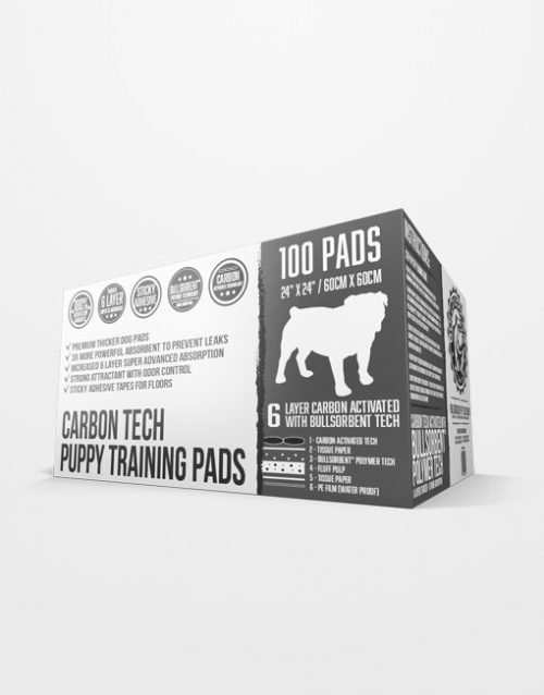 Bulldogology Charcoal Premium Puppy Pads