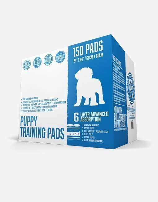 Bulldogology Premium Puppy Pads 150 Count