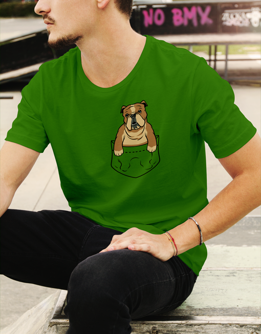 english bulldog pocket tshirt02