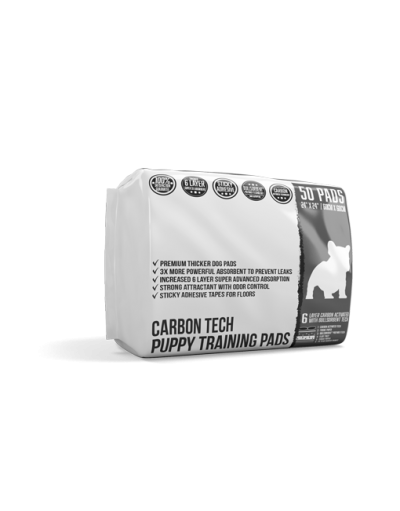 """Carbon Activated Large 50 Count 24x24"""""""