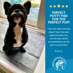 customer review02 Carbon Pet Training Pads