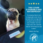 review front blk01 Pet Front Bucket Seat Cover