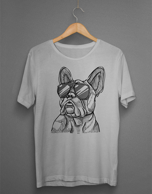 Cool French Bulldog Sketch