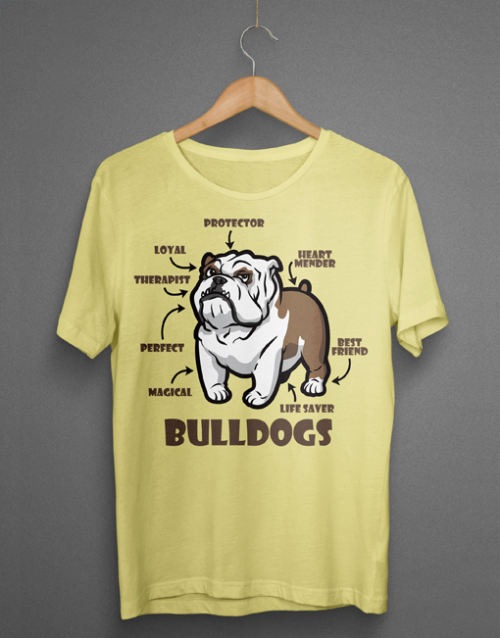 Magical Loyal Perfect Bulldogs mockup