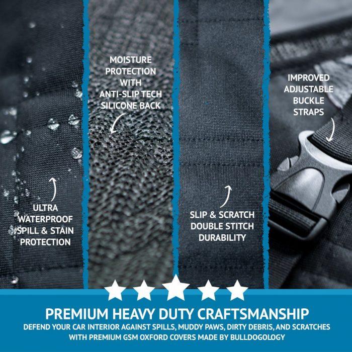 features cargoblk01 Premium Cargo Liner & Trunk Cover
