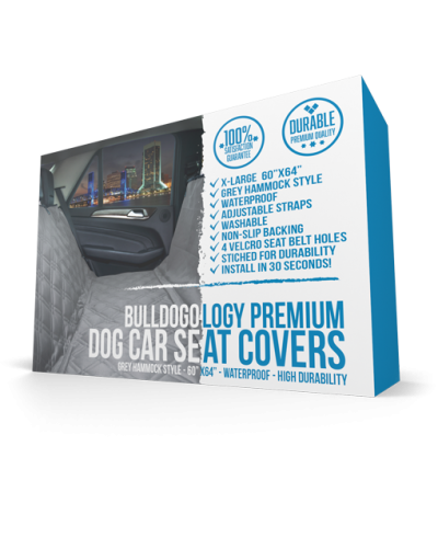 Rear Seat Cover XL Grey