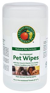 Earth Friendly Products Natural Pet Wipes