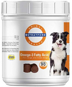 Stratford Pharmaceuticals Omega 3 Fatty Acid Soft Chew Max Strength