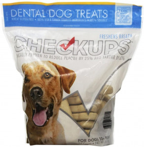 Checkups- Dental Dog Treats, 24ct 48 oz. for Dogs