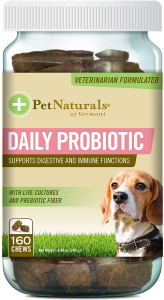 Pet Naturals of Vermont - Daily Probiotic for Dogs,