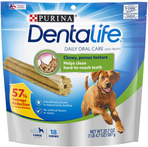 Purina DentaLife Adult Large Breed Adult Dental Dog Chew Treats